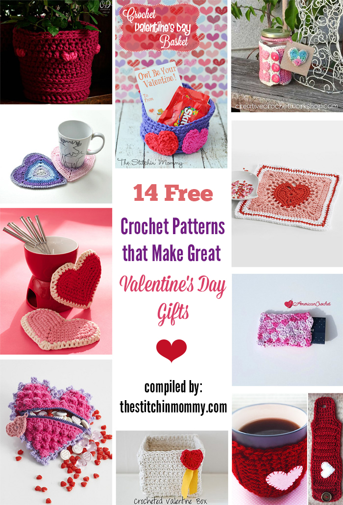 14 Free Crochet Patterns That Make Great Valentines Day Gifts The