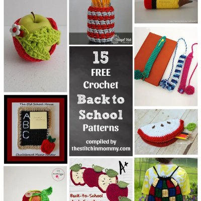 15 Free Back to School Crochet Patterns