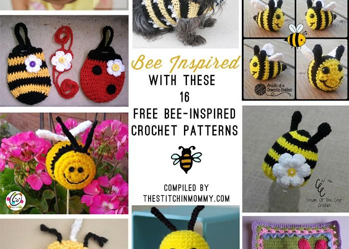 16 Free Bee-Inspired Crochet Patterns