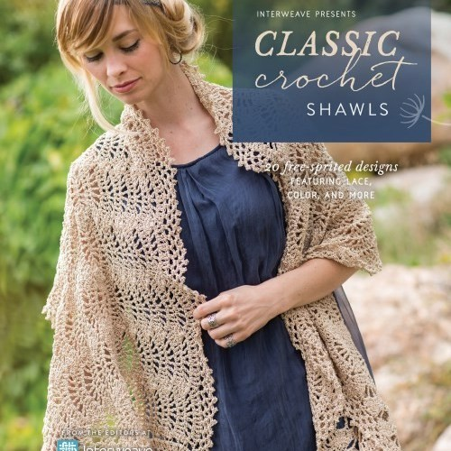 Interweave Presents: Classic Crochet Shawls – Book Review and Giveaway