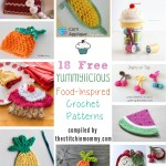 18 Free Yummylicious Food-Inspired Crochet Patterns