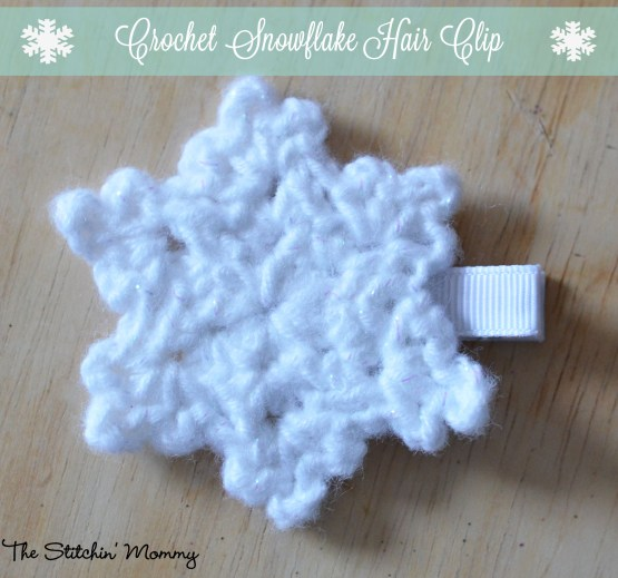Crochet Snowflake - Free Pattern www.thestitchinmommy.com