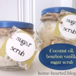 Sugar Scrub by Home Hearted {Guest Contributor}