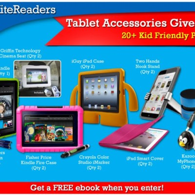 KiteReaders Tablet Accessories Giveaway Plus Get a Free E-book!