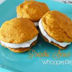 31 Days of Halloween – Pumpkin Spiced Whoopie Pies (Sneak Peek)