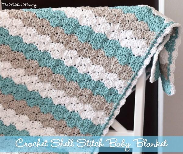 CrochetShellBabyBlanket