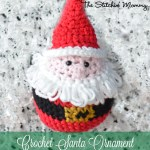 Crochet Santa Ornament – Free Pattern