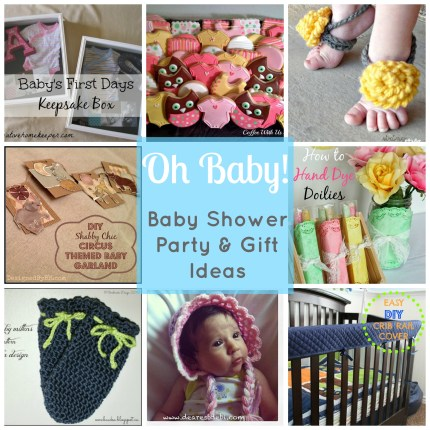 Baby Shower Party & Gift Ideas www.thestitchinmommy.com
