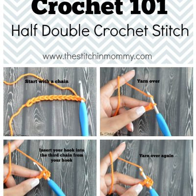 Crochet 101 – Half Double Crochet Stitch