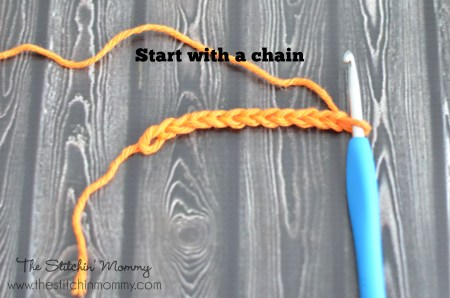 Crochet 101 - Half Double Crochet Stitch www.thestitchinmommy.com