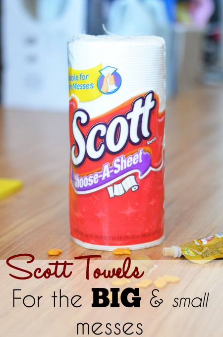 Scott Towels, For the Big and Small Messes www.thestitchinmommy.com