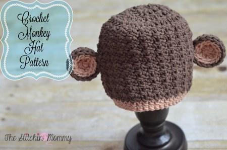 Crochet Boutique Monkey Hat