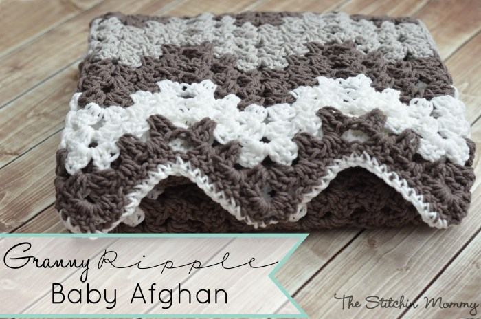 Granny Ripple Stitch Tutorial: Granny Ripple Blanket