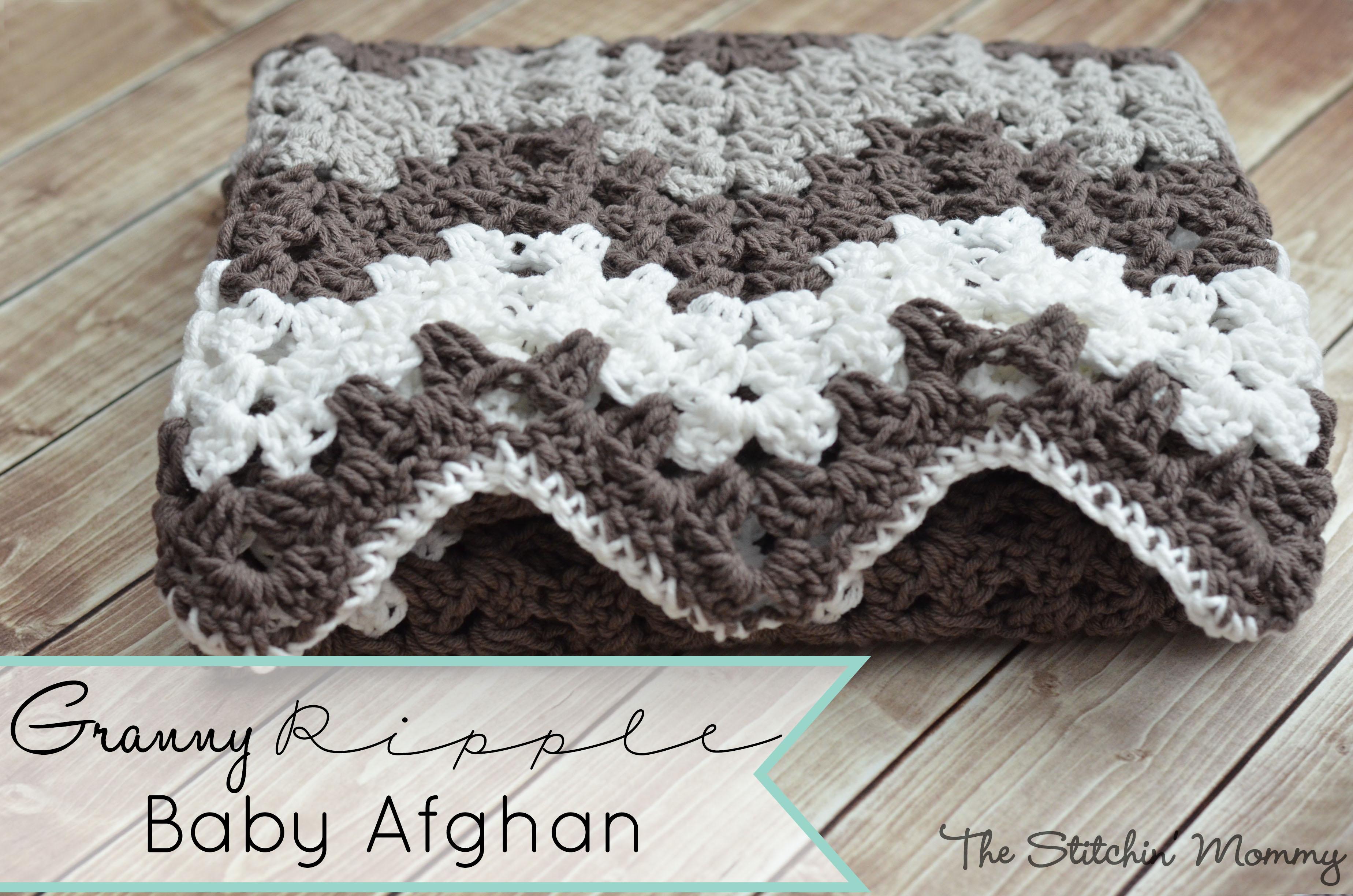 Granny Ripple Blanket The Stitchin Mommy