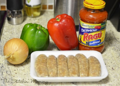 Sausage & Peppers Calzone #NewTraDish www.thestitchinmommy.com