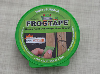 Creating a Striped Accent Wall with FrogTape® www.thestitchinmommy.com