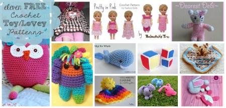 Eleven Free Crochet Toy/Lovey Patterns