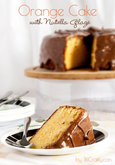 Orange-Cake-with-Nutella-Glaze-Recipe