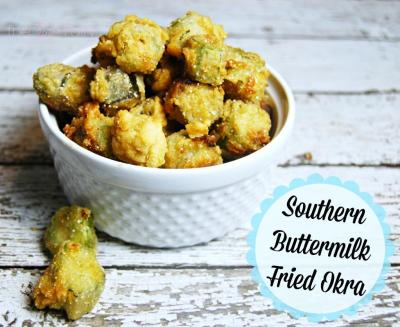 Southern Buttermilk Fried Okra