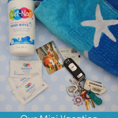 Our Mini Vacation with Wet-Nap Hand Wipes