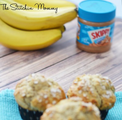 Peanut Butter Banana Muffins - Peanut Butter for Breakfast