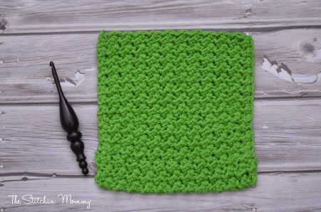 Learn a New Crochet Stitch, Moss Stitch Tutorial and Afghan Square Pattern