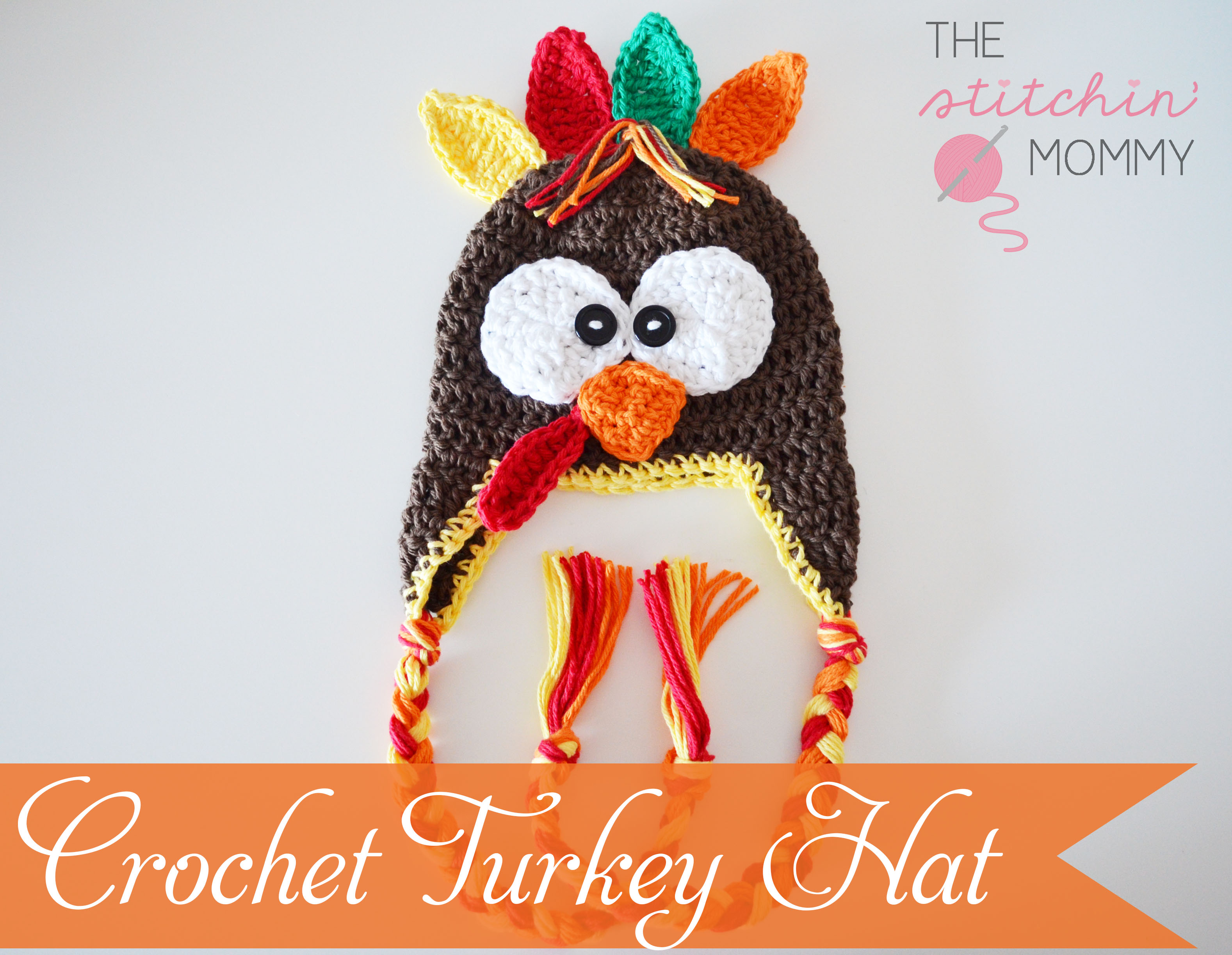 Crochet Turkey Hat Free Pattern The Stitchin Mommy
