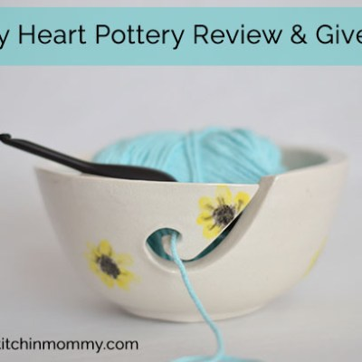 Gorgeous Yarn Bowls from Muddy Heart Pottery & Giveaway