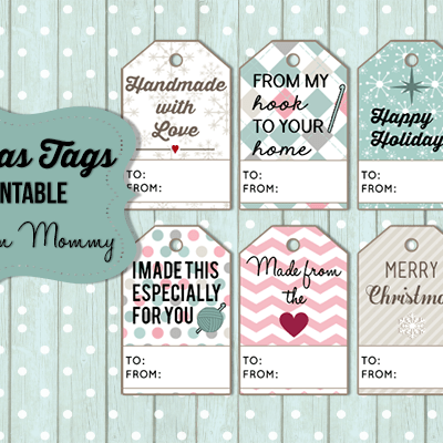 Christmas Gift Tags – Free Printable