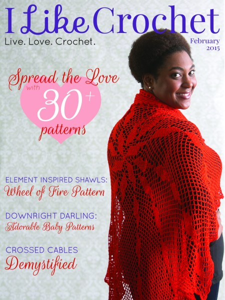 I Like Crochet Magazine - February Issue | www.thestitchinmommy.com #crochet #magazine #february #patterns #ValentinesDay