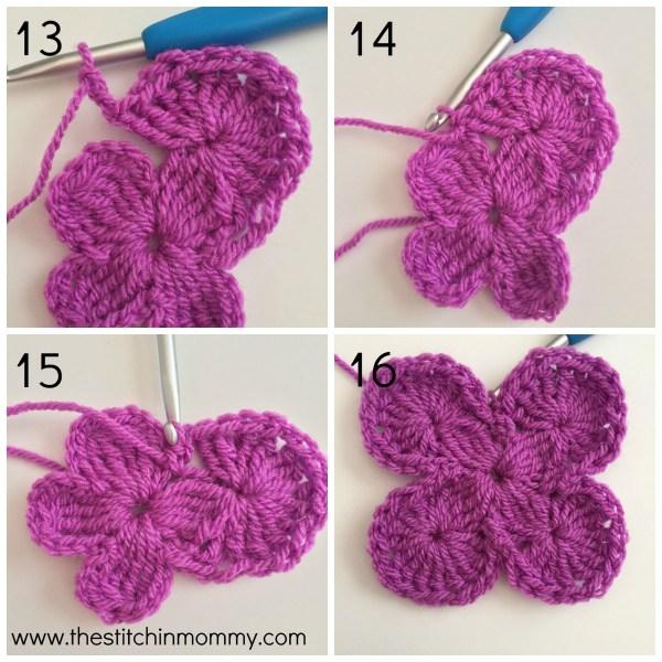 Bavarian Square Tutorial www.thestitchinmommy.com #crochet #stitch #tutorial #bavariansquare