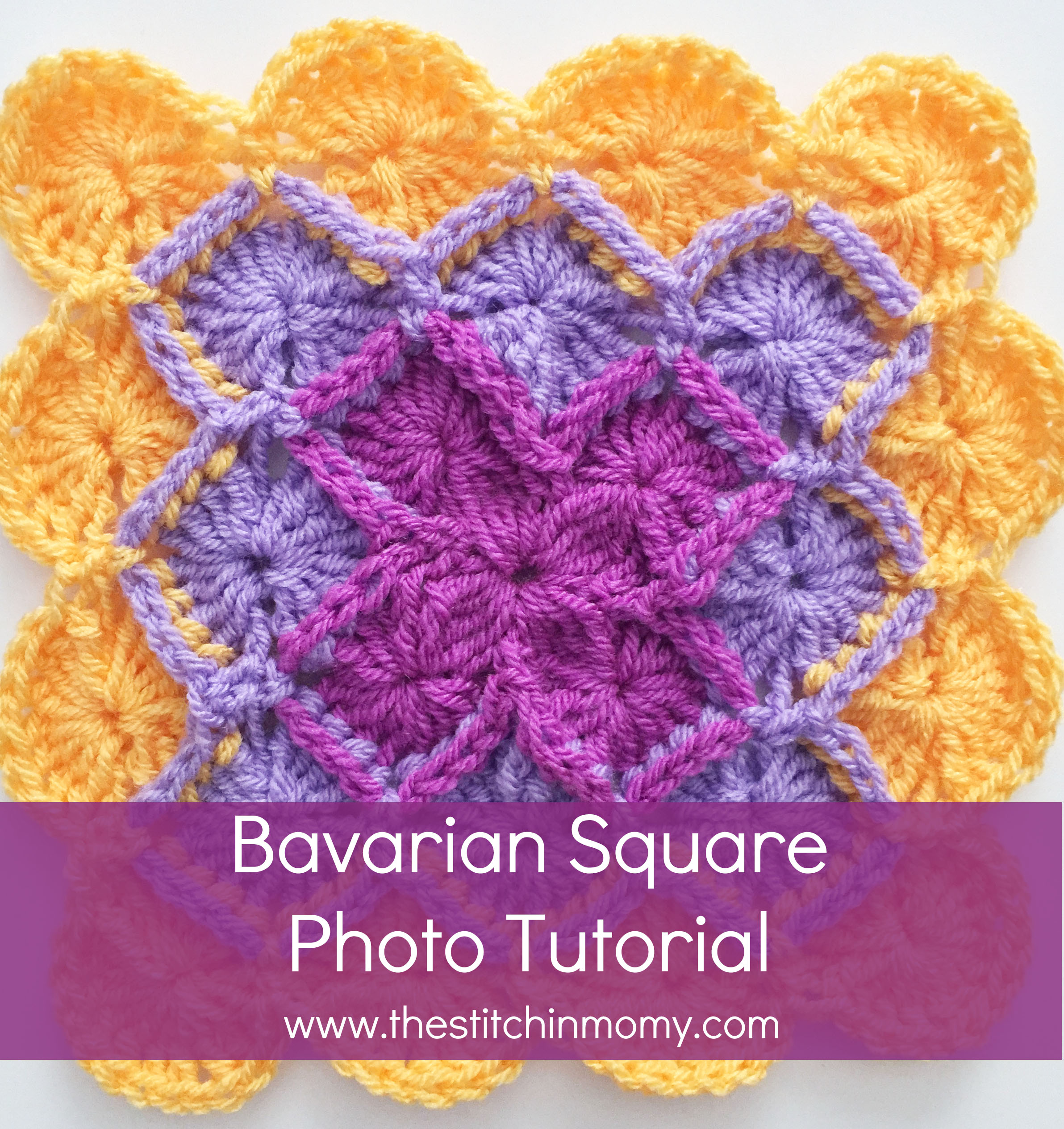 Bavarian Square Tutorial The Stitchin Mommy