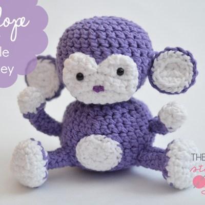 Penelope the Purple Monkey – Free Pattern