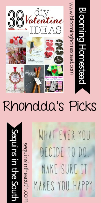 Rhondda's Picks |38 DIY Valentine Ideas/Gypsy Loving | Tuesday PIN-spiration Link Party