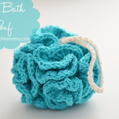 Puffy Bath Pouf – Free Pattern