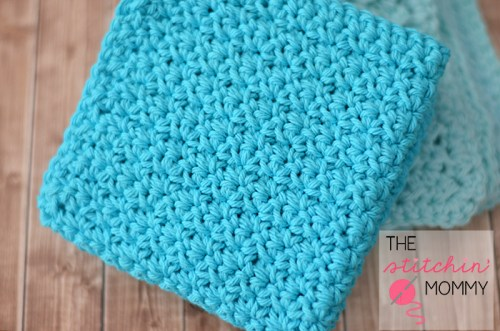 Easy Textured Washcloths - Two Free Patterns | www.thestitchinmommy.com #washcloth #spa #wash #bath #spaday #textured