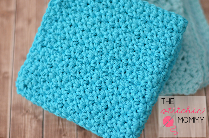 Easy Textured Washcloths Two Free Patterns The Stitchin Mommy