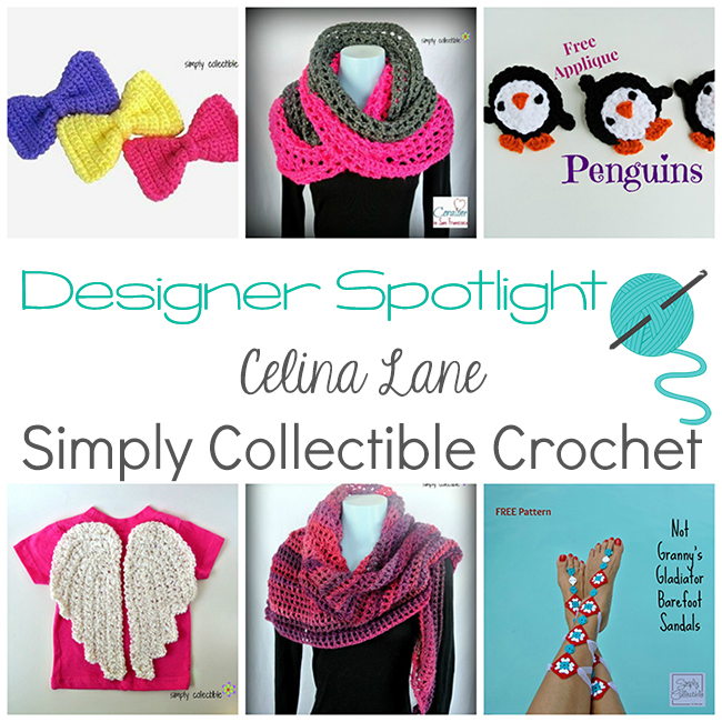 Designer Spotlight Celina Lane From Simply Collectible Crochet