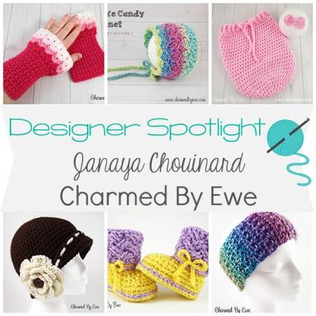 Designer Spotlight - Janaya Chouinard from Charmed By Ewe | www.thestitchinmommy.com