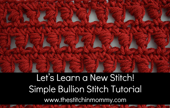 Let's Learn a New Stitch! - Simple Bullion Stitch Tutorial | www.thestitchinmommy.com