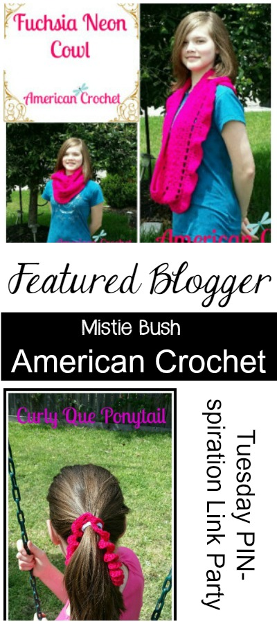 Featured Blogger - American Crochet | Tuesday PIN-spiration Link Party | www.thestitchinmommy.com