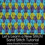 Sand Stitch Tutorial and Afghan Square