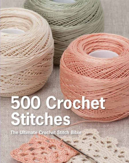 500 Crochet Stitches - The Ultimate Crochet Stitch Bible: Book Review | www.thestitchinmommy.com