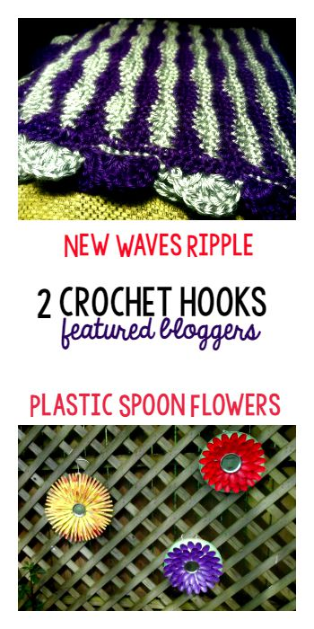 Tuesday PIN-spiration Featured Blogger - 2 Crochet Hooks | www.thestitchinmommy.com