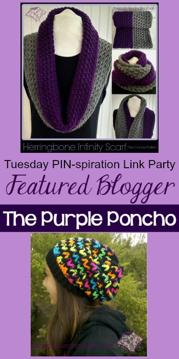 Tuesday PIN-spiration Featured Blogger - The Purple Poncho | www.thestitchinmommy.com