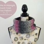 Kiss Me At Midnight Quick Cowl – Free Pattern