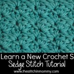 Let's Learn a New Crochet Stitch! – Sedge Stitch Tutorial