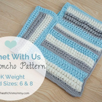 CWU Fall Poncho – Child Sizes 6 & 8
