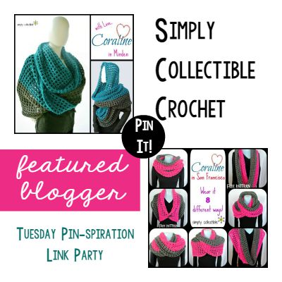 Tuesday PIN-spiration Featured Blogger - Simply Collectible Crochet | www.thestitchinmommy.com