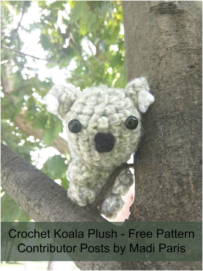 Crochet Koala Plush Free Pattern The Stitchin Mommy